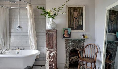¿Te gustaría un baño 'shabby chic'? Aplica estos 7 mandamientos