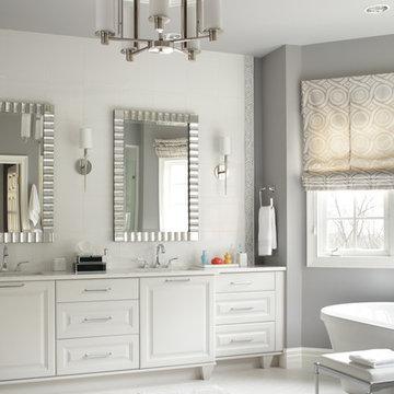 Shades of Gray Master Bath