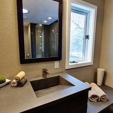 Modern Bathroom by Modern Edge Design