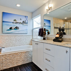 Contemporary Bathroom by New Leaf Construction
