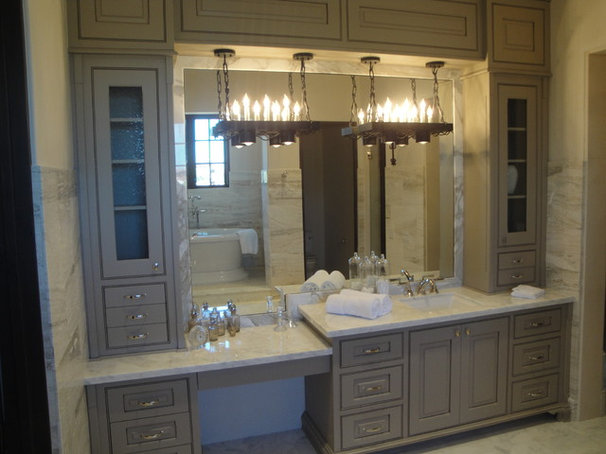Mediterranean Bathroom by LIFESTYLE KITCHENS by The Kitchen Lady