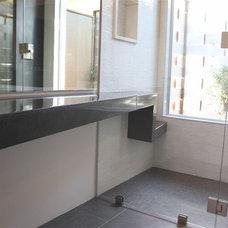 Modern Bathroom by Architectural Concrete Interiors llc