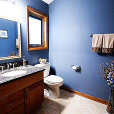 Traditional Bathroom by Renovations Group Inc