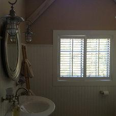 Farmhouse Bathroom by World Wide Stereo