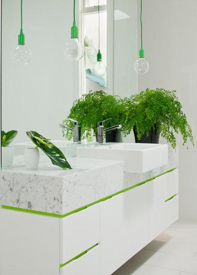 Contemporáneo Cuarto de baño by Matt Gibson Architecture + Design