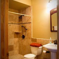 Traditional Bathroom by BellaWood Builders