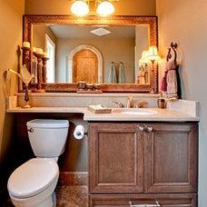 Traditional Bathroom by Logan's Hammer Building & Renovation