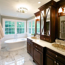 Traditional Bathroom by ABK Today