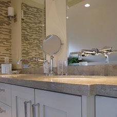 Contemporary Bathroom by Arbutus Interiors