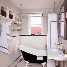 Eclectic Bathroom by BGDB Interior Design