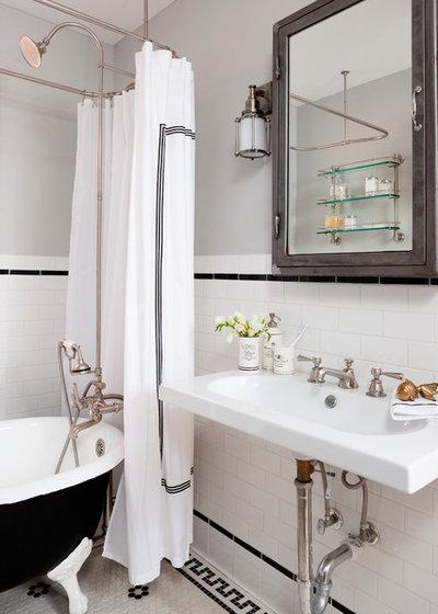 Eclectic Bathroom by Breeze Giannasio Interiors
