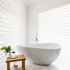 Contemporary Bathroom by Holly Hickey Moore