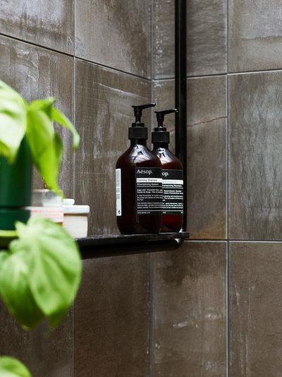 Modern Bathroom by JOHN ELLWAY. ARCHITECT