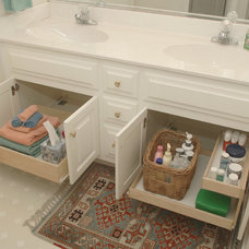 Traditional Bathroom by ShelfGenie of Greater Houston