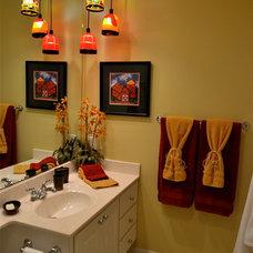 Tropical Bathroom by Scott's Creative Home