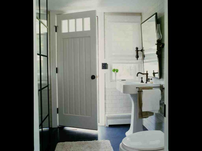 traditional bathroom by SchappacherWhite Architecture D.P.C.