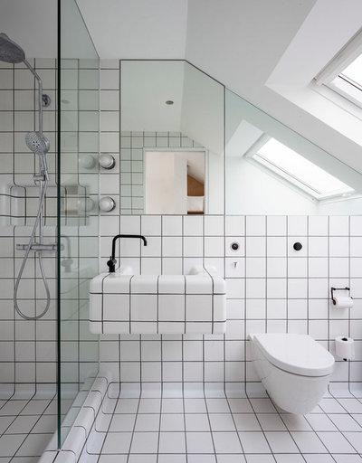 Contemporain Salle de Bain by Studio 30 Architects