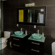 Modern Bathroom by Style My Space Interior Design and Staging