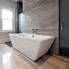 contemporary bathroom by Sherwood Custom Homes