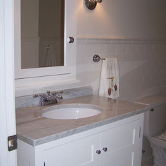 traditional bathroom by Sheryl Dessa Tart
