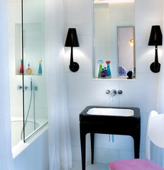 eclectic bathroom by SHH - Spence, Harris, Hogan Associates