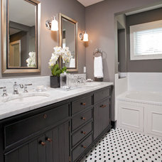 Contemporary Bathroom by Homes by Tradition