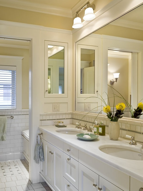 bathroom cabinets built in wall mounted bathroom cabinet houzz 15623