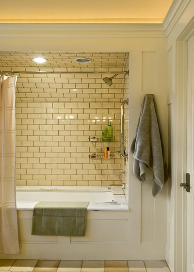 Victorian Bathroom by Smith & Vansant Architects PC