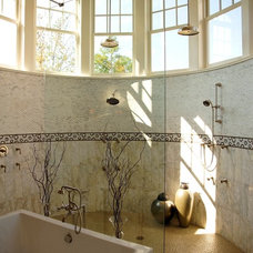 Traditional Bathroom by VanBrouck & Associates, Inc.
