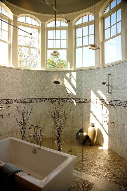 Traditional Bathroom by VanBrouck & Associates, Inc.
