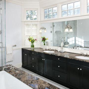 Shingle Style Master Bath