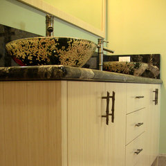 contemporary bathroom by Laguna Bamboo