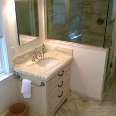Traditional Bathroom by Adamo Stone Design