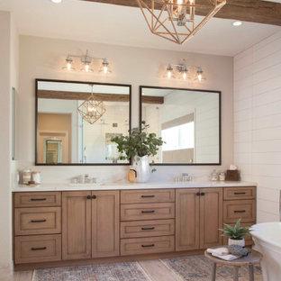 Shiplap Master Bathroom Remodel