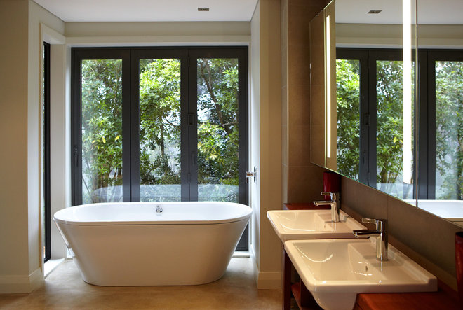 Contemporary Bathroom by Context Architects