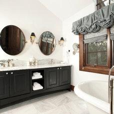 Rustic Bathroom by Allen-Guerra Architecture