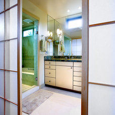 asian bathroom by Broadmore Builders, LLC