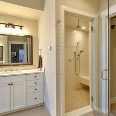 Traditional Bathroom by Dan Nelson, Designs Northwest Architects