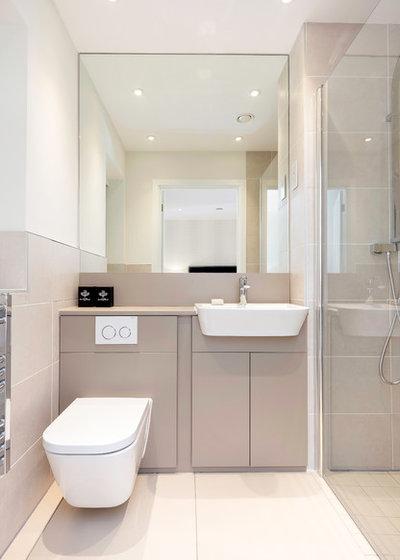 Contemporary Bathroom by WN Interiors.