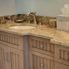 Traditional Bathroom by Robinwood Kitchens