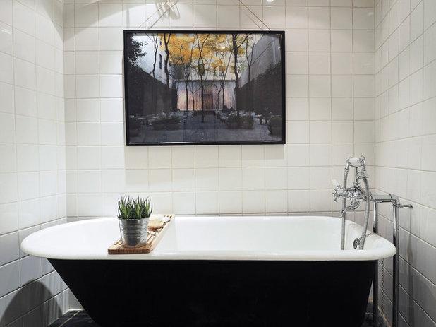 Wie praktisch sind eigentlich freistehende wannen in kleinen b dern - Fuayboden badezimmer ...