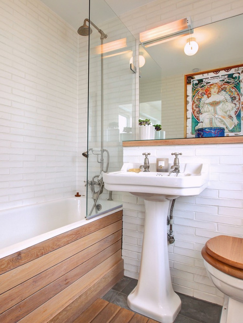 saveemail - Eclectic Bathroom