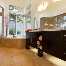 Contemporary Bathroom Vanities And Sink Consoles by Harbour City Kitchens
