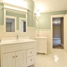 Traditional Bathroom by Mark D. Williams Custom Homes Inc