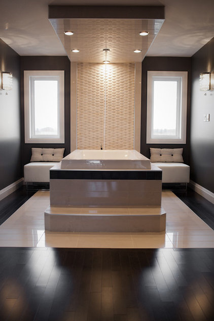 Contemporary Bathroom by Fresco Interiors Design Group Inc