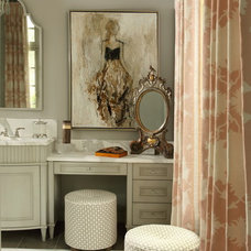 Traditional Bathroom by J. Hirsch Interior Design, LLC