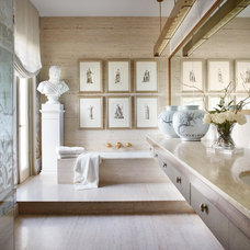 Transitional Bathroom by Randy Heller Pure and Simple Interior Design