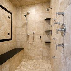 Bathroom by Broadmore Builders, LLC