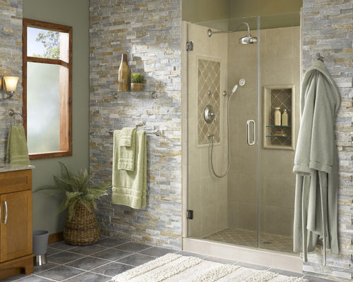 Stone Wall Tile Houzz