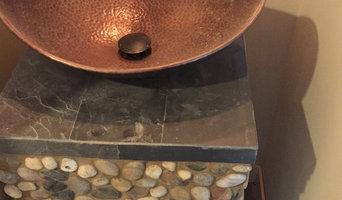 Shower & Bath: Unique Building Concepts Pinnacles 863-804 Sink Stand